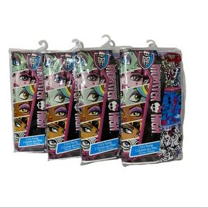 Girls size 6 Monster High Underwear